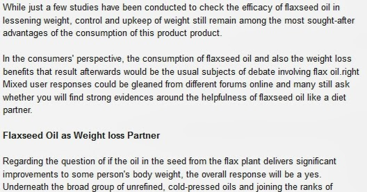 how to eat flax seeds for weight loss