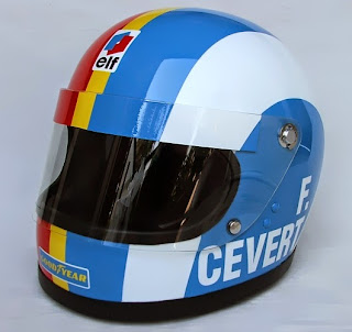 Il casco di Francois Cevert è diventato un'icona degli anni '70