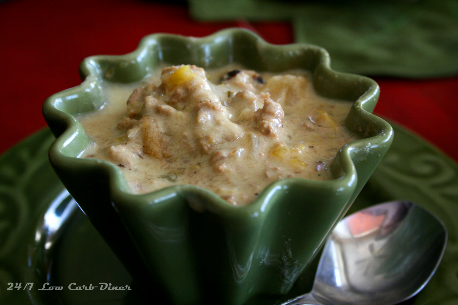 24/7 Low Carb Diner: Albuquerque Turkey White Chili