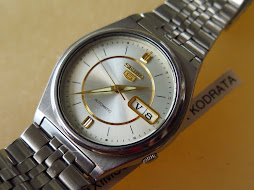SEIKO 5 WHITE SILVER DIAL PART L - AUTOMATIC