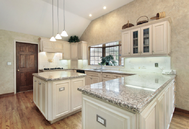 Luxury L Shaped Kitchen Island Designs Photos