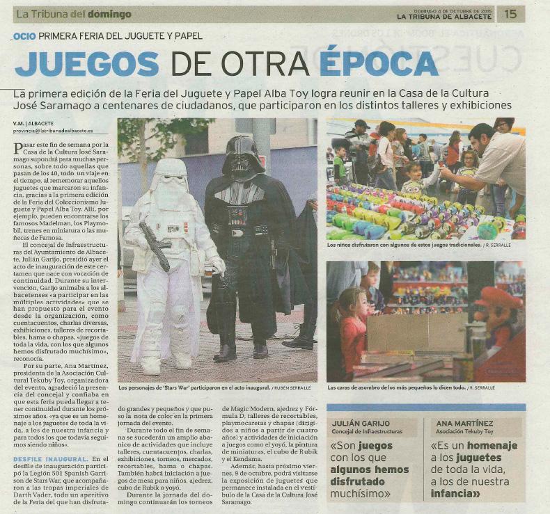 JUGUETES DE OTRA EPOCA
