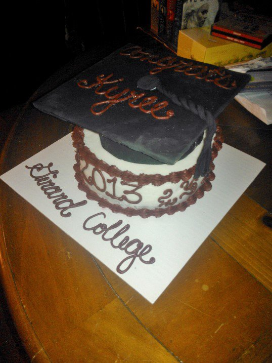 How To Make A Mortar Board Cake