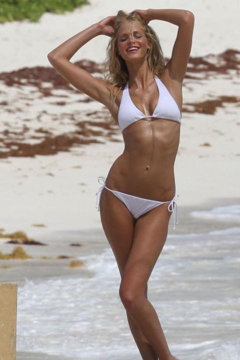 Erin Heatherton In A Bikini Photos