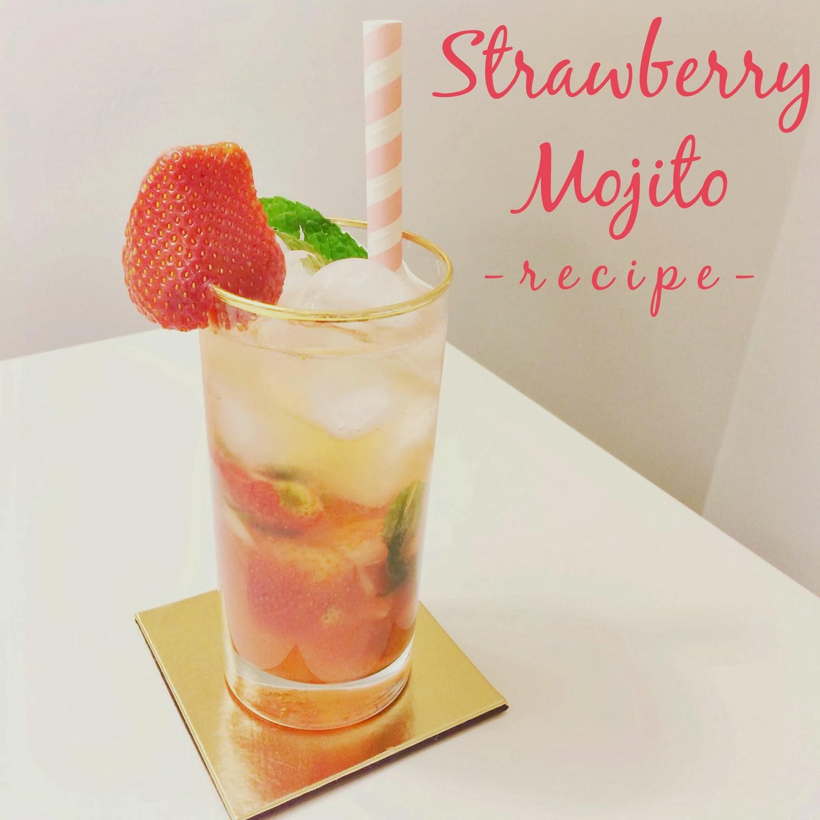 homemade strawberry mojito recipe