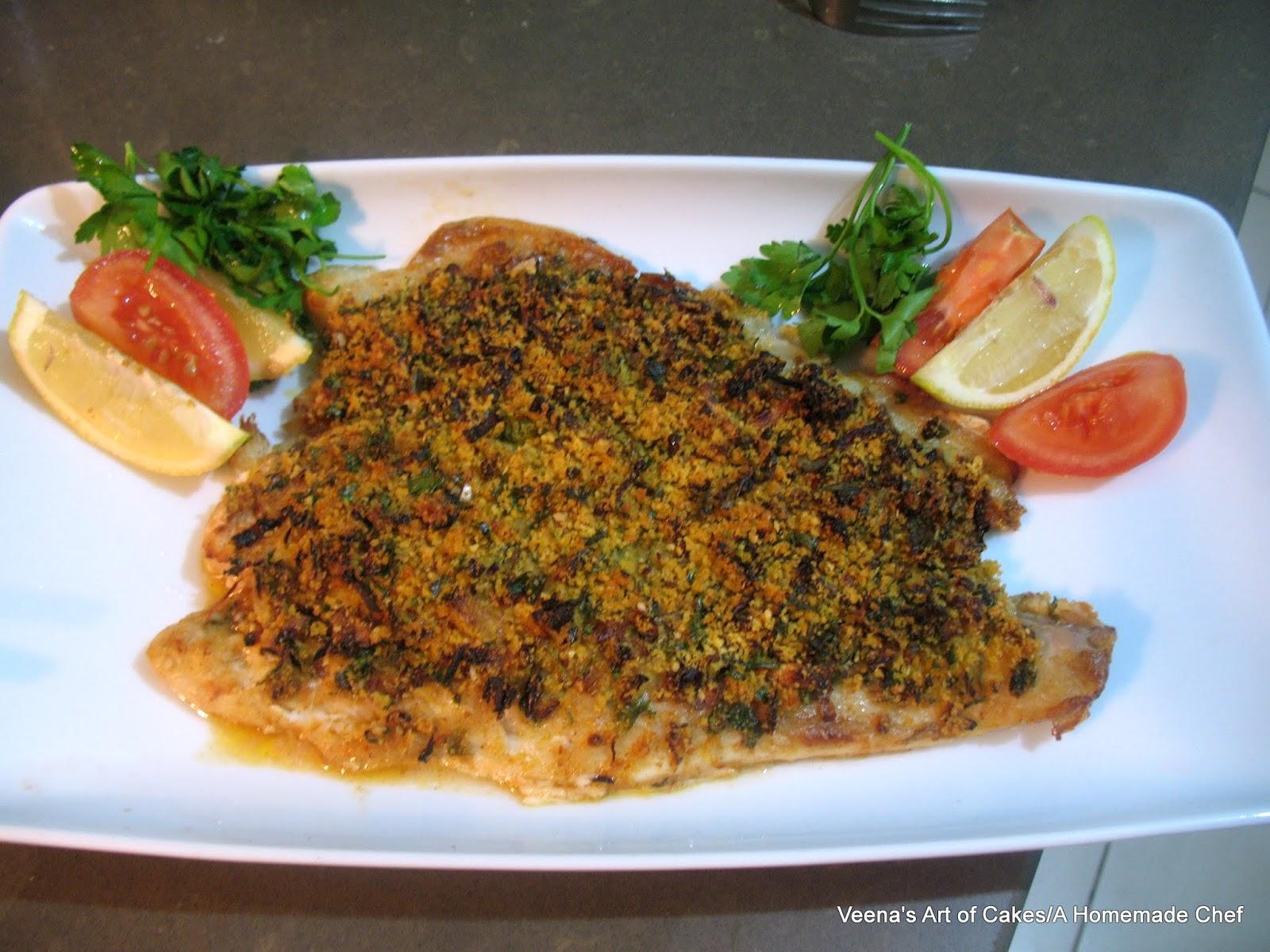 Baked fish fillet veena azmanov for Fish fillet in oven