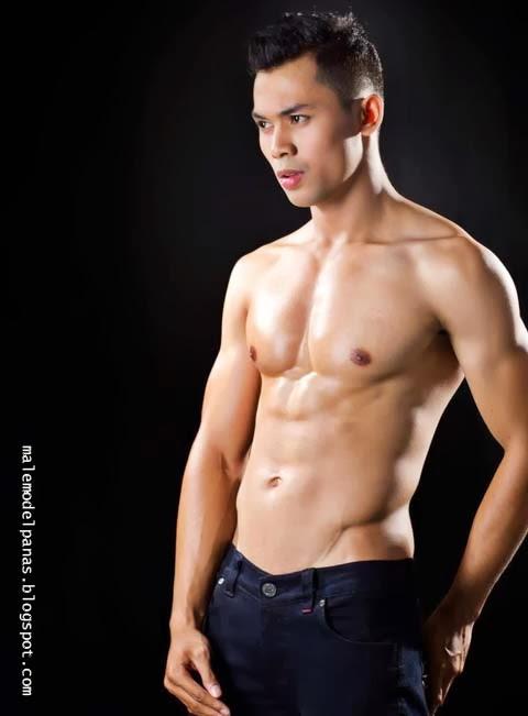 Indonesian male model Raden Sydney samba satia
