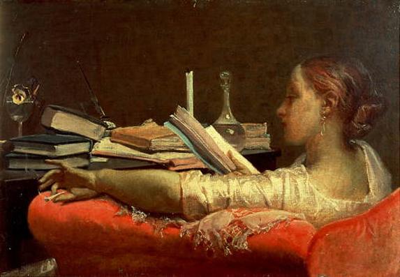 F. Faruffini - La lettrice - 1864/65