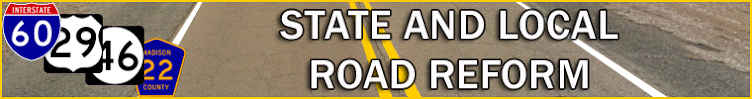 State And Local Road Reform