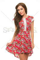 Rochie StarShinerS Delicious Red (StarShinerS)