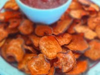 Healthy Sweet Potato Low Fat Chips Recipe