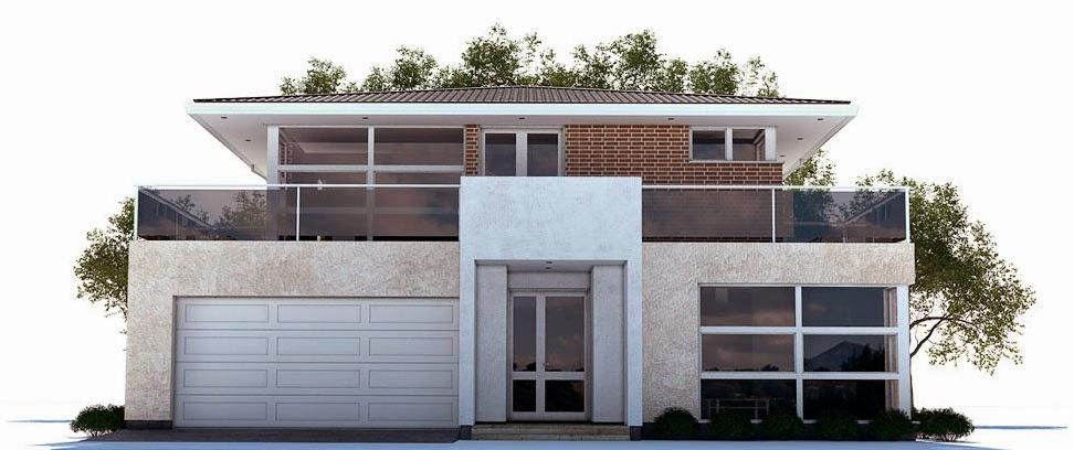 planos de casas 2 plantas 3 dormitorios
