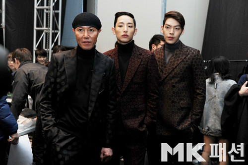 Lee Soo Hyuk, Kim Woobin, Kim Seo Ryong Seoul Fashion week 130325