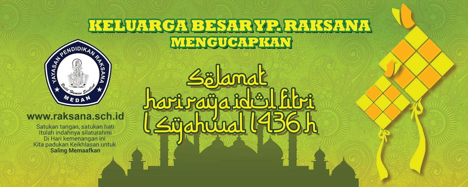 Banner Ucapan Selamat Hari Raya Idul Fitri Meter