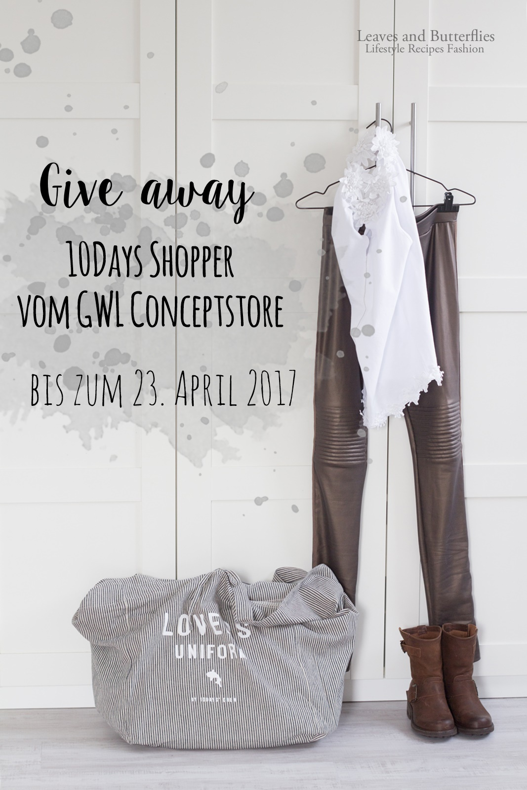 Giveaway bei Leaves and Butterflies