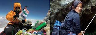 Sudarshan Kriya powers Tine's Mount Everest climb | Sudarshan Kriya