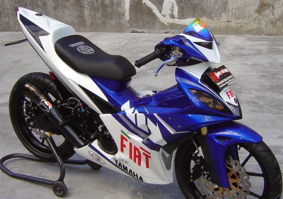 50+ Modifikasi Motor Jupiter MX 2014 Terbaru