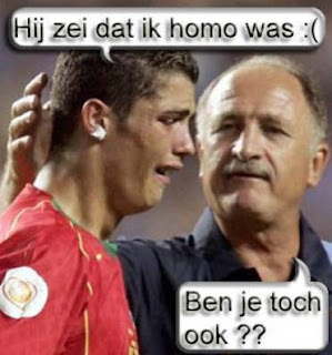 funny picture Ronaldo crying
