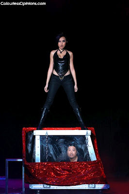 Illusionists JC Sum & Magic Babe Ning at Superstars of Magic 2 Genting Malaysia