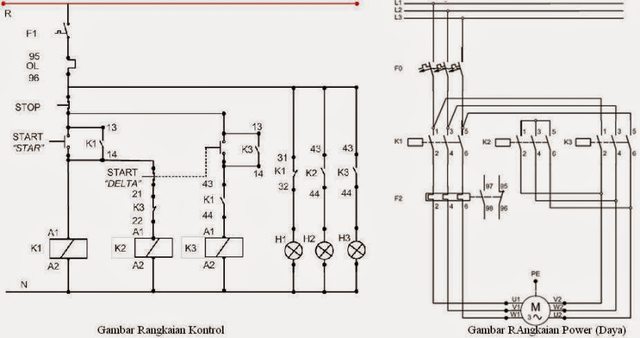 8w12s0 together with Delta Wye Motor Connection Diagram besides Abb Motor Wiring Diagram likewise Dol Starter Wiring Diagram For additionally Rangkaian Listrik Direct Online Dol. on star delta starter connection diagram