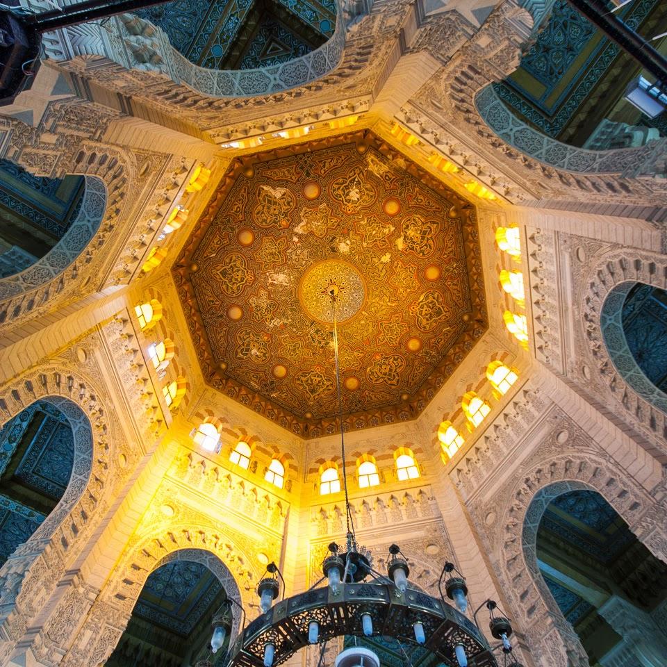 az el-Murszi Abu el-Abbász mecset kupolája