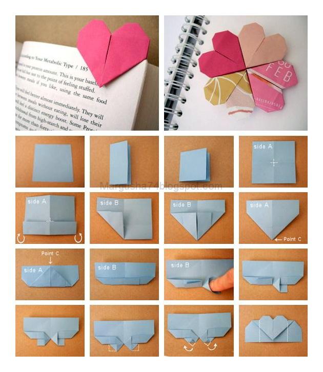 Как сделать красивую закладку