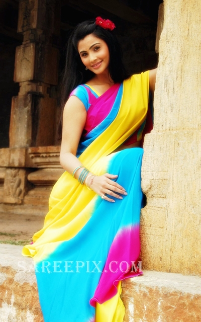 Gajendra_beauty_Daisy_shah_half_saree_photo