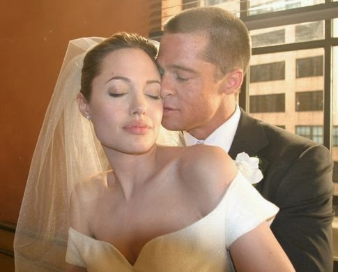 bradd pitt angelina jolie wedding pictures