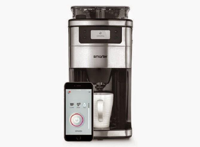 máy pha cà phê điều khiển từ xa WiFi Coffee Machine