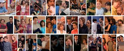 Escenas de la serie Compañeros Antena 3 1998-2002