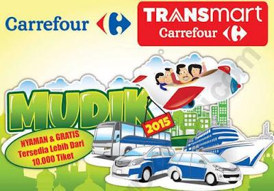 Mudik Gratis dari Carrefour dan Transmart