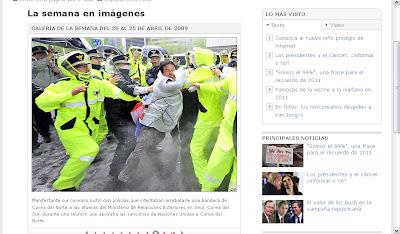 Cómo el diario Público manipula la información sobre la RPD de Corea Foto+original