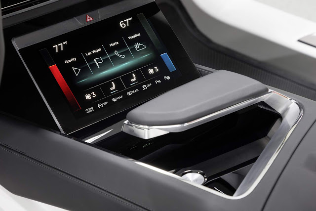 Audi HMI - Confort Center
