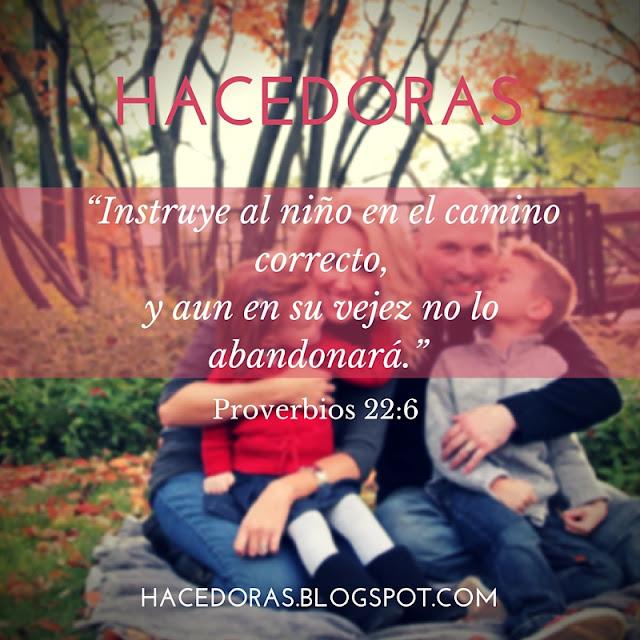 Imágenes con versículos de niños