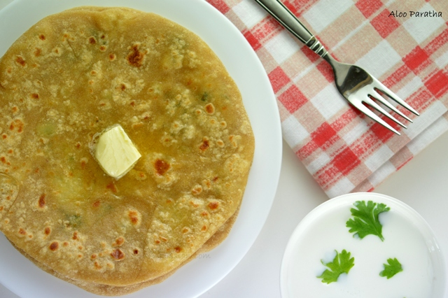 how to make tamil alloo prantha