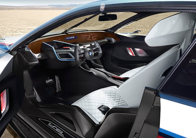 BMW 3.0 CSL オマージュR 内装