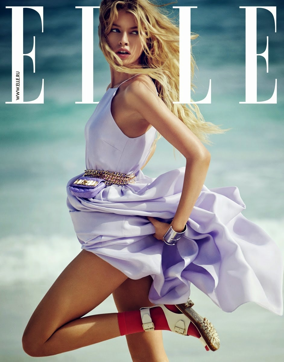 Fashion Model @ Stella Maxwell for ELLE Russia, June 2015