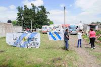La Cámpora San Vicente acompaña un operativo de inclusión en el barrio Mataderos
