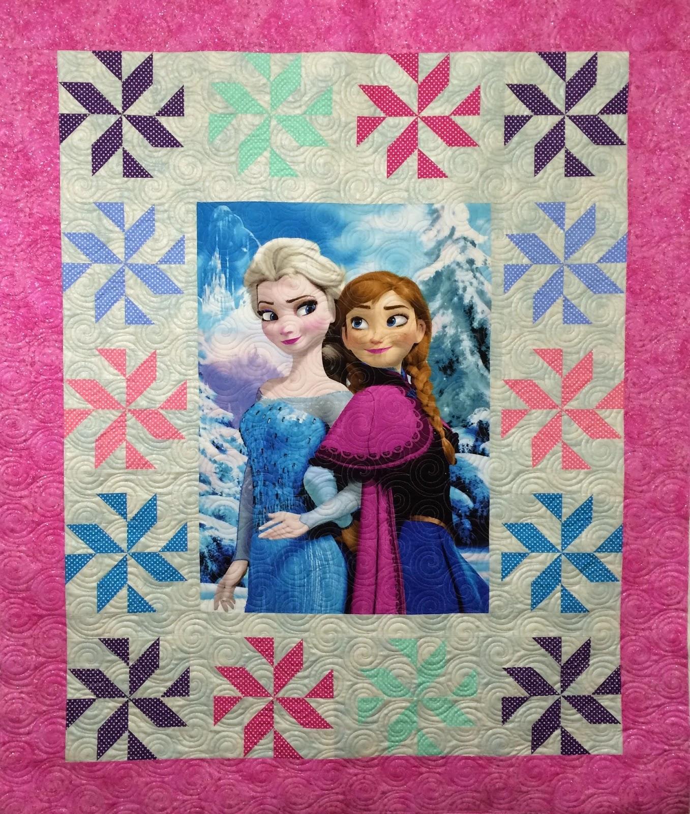 Debra Taylor Frozen Quilt