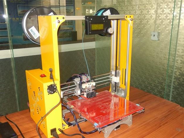Diy 3d printing reprap tk300 3d printer for Plans for 3d printing