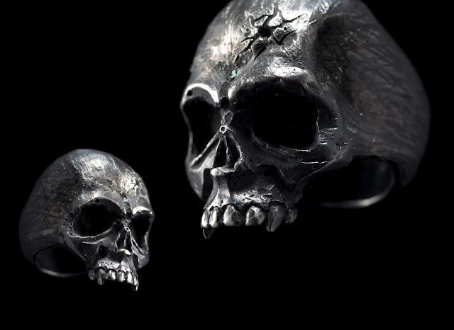 Philippines silversmith 13 Lucky Monkey's bespoke skull jewellery