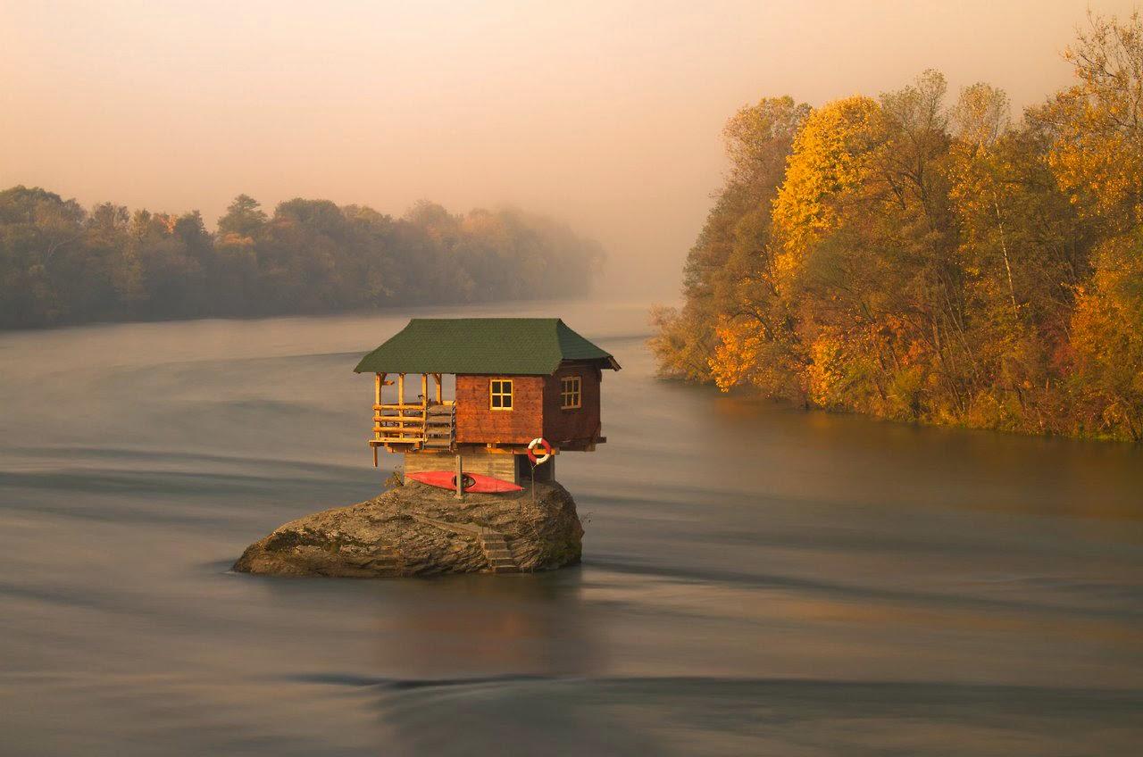 منازل في مناطق بعيدة و مناظر تسحر الألباب