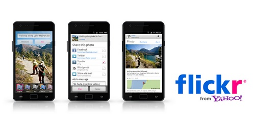 flickr for android mobile phone