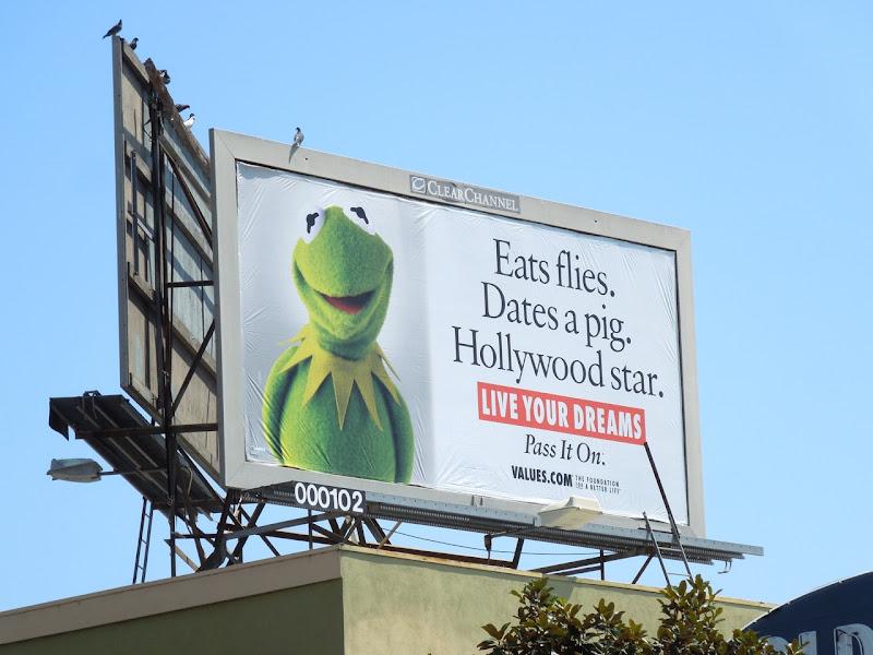 Kermit Values billboard