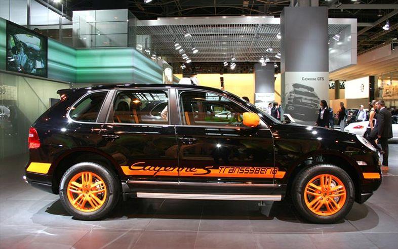 Automobile Trends 2010 Porsche Cayenne S Transsyberia
