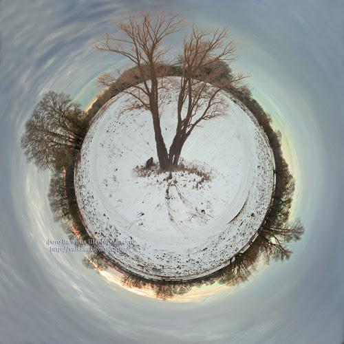 Зимняя планета