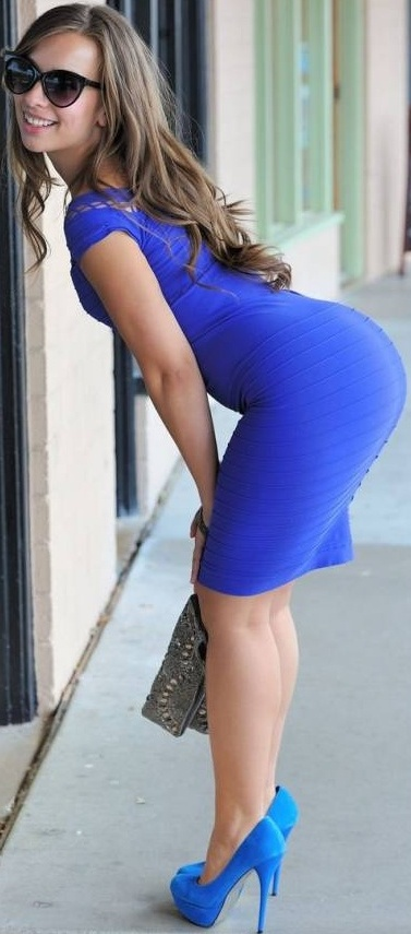 sophia sutra blue dress