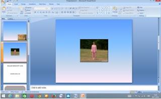 memasukkan vidio pada slide