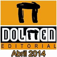 Dolmen Editorial: Novedades Abril 2014