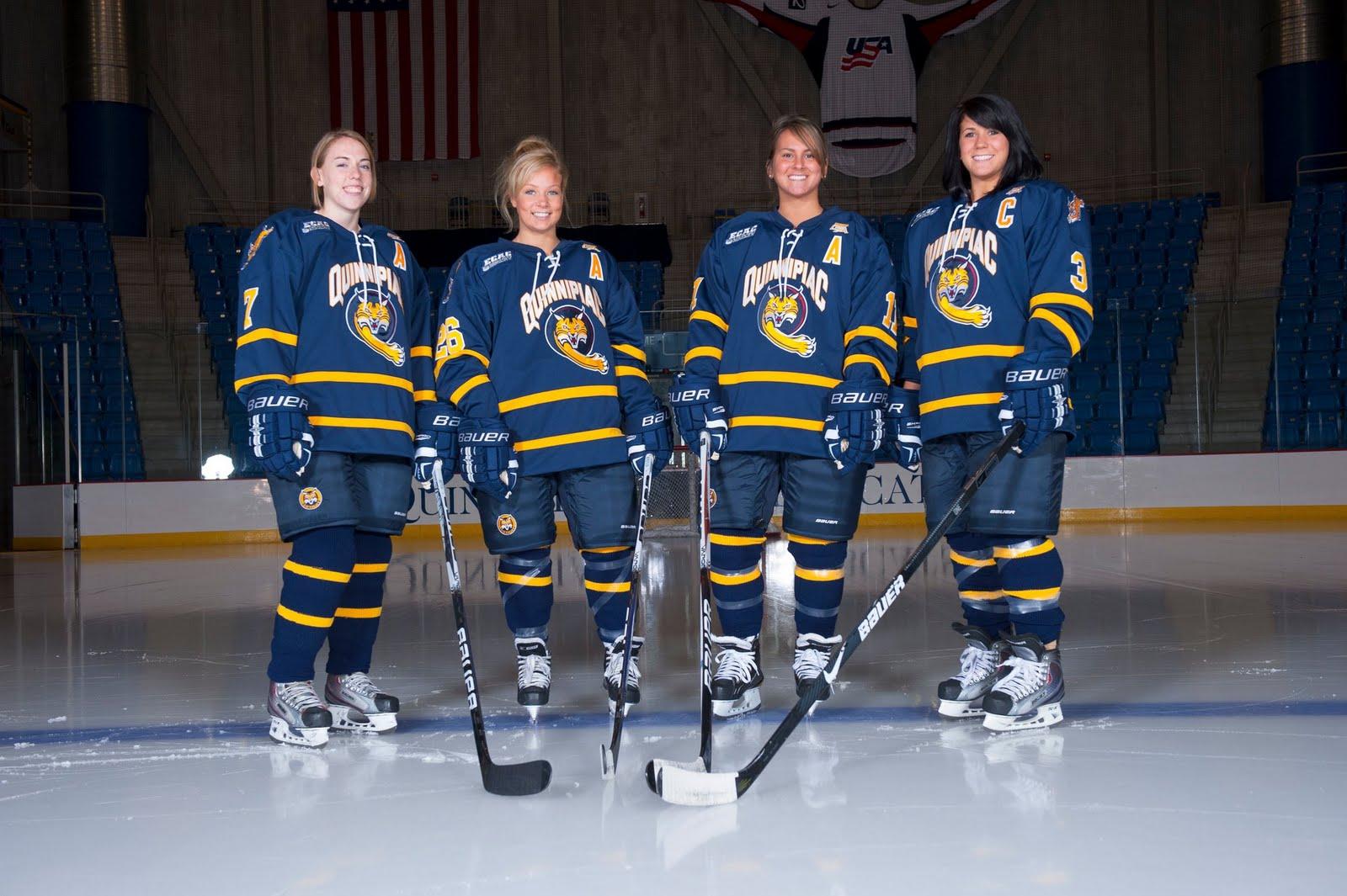 Skating the Dream: Quinnipiac Women's Ice Hockey Photo Gallery